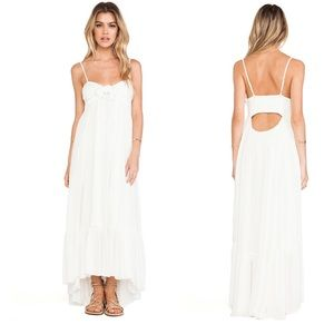 Free People Totally Tubular Dress in Ivory sz XS